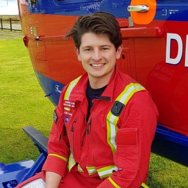 Critical Care Paramedic Josh Barker
